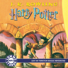 Harry Potter og de vises stein av J.K. Rowling (Lydbok MP3-CD)