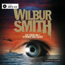 De som er i storm og fare av Wilbur Smith (Lydbok MP3-CD)