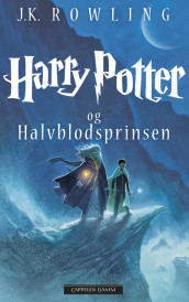 Omslag - Harry Potter og Halvblodsprinsen