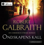 Ondskapens kall av Robert Galbraith (Lydbok MP3-CD)