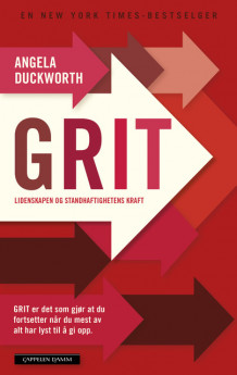GRIT av Angela Duckworth (Innbundet)