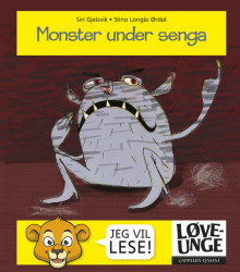 Monster under senga av Siri Gjelsvik (Innbundet)